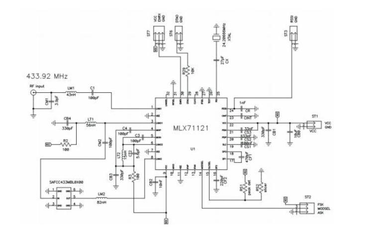 基于SAW滤波器的接收器设计