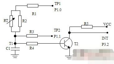 利用At89C2051单片机和热敏电阻实现中药加速仪温度测量系统的设计