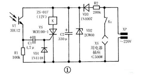 """手电筒光??亟涣骺氐缏吠?></a></div> <div class=""""a-content""""> <p class=""""a-summary"""">这种??乜赜肫胀ㄊ值缤才浜鲜褂?,能够在10m范围内有效??仄胀ǖ缡踊?、收录机、电风扇和照明灯具等家用电器具""""开""""或""""关"""",具有良好地性能和使用价值。...</p> <div class=""""summary-ft""""> <span class=""""a-time"""">2021-05-01</span> <span class=""""a-tag"""">关键字: <a target=""""_blank"""" href=""""/tags/%E9%81%A5%E6%8E%A7/"""" class=""""blue"""">???/a><a target=""""_blank"""" href=""""/tags/%E7%85%A7%E6%98%8E/"""" class=""""blue"""">照明</a><a target=""""_blank"""" href=""""/tags/%E4%BA%A4%E6%B5%81%E5%BC%80%E5%85%B3/"""" class=""""blue"""">交流开关</a></span> </div> </div> </div> <!-- 1 --><div class=""""article-list""""> <h3 class=""""a-title""""><a href=""""http://www.korenixembedded.com/dianlutu/191/202104151575714.html"""" title=""""书柜自动照明灯的电路说明"""" target=""""_blank"""">书柜自动照明灯的电路说明</a></h3> <div class=""""a-thumb""""><a href=""""http://www.korenixembedded.com/dianlutu/191/202104151575714.html"""" target=""""_blank""""><img src="""