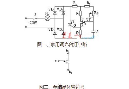 BT33型調光臺燈電路的制作方法