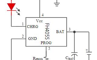 单节锂电池充电芯片FH4055数据手册