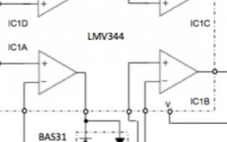 识别线性放大器在不同的象限的输入极性