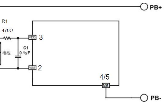 单节锂电池充电保护芯片MX2201B数据手册
