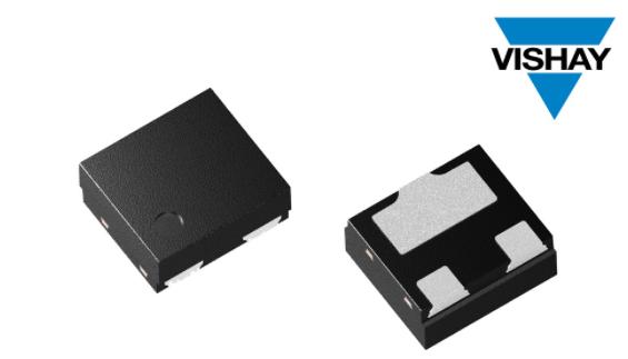Vishay推出具有超低電容的兩線ESD保護二極管