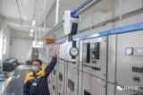 继消毒机器人后,京港地铁近期上线了变电所智能巡检机器人