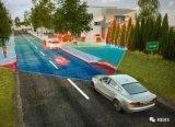 大陆集团展示360度覆盖车身周围环境的长距雷达传感器
