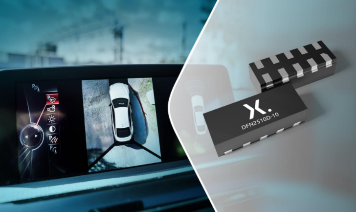Nexperia推出適用于汽車應用中高速接口的新型ESD保護器件
