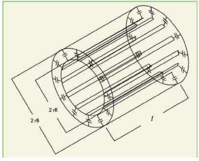 8元无负载耦合微带线TEM谐振器的分析和设计