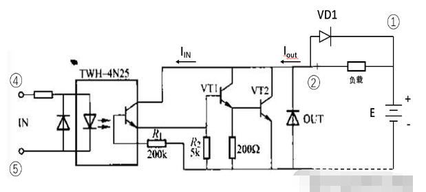 直流固态继电器的工作原理解析