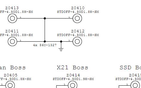 用于A1465主板修理的故障逻辑板电路图