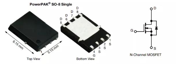 現貨推薦 | Vishay/Siliconix SiR186LDP N溝道60V (D-S) MOSFET