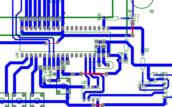 基于粉尘传感器的PM2.5检测系统PCB原理图下载
