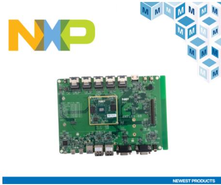 貿澤電子開售具有機器學習以及音視頻功能的NXP i.MX 8M Plus評估套件