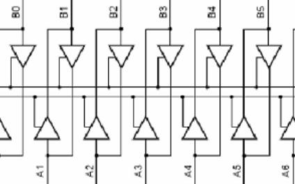 双声道音频功率放大器MOS管芯片74HC245