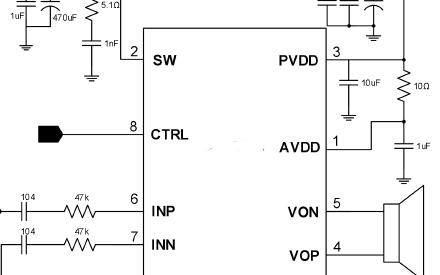 高效升压单声道AB/D类双模音频功放芯片ANT8916S