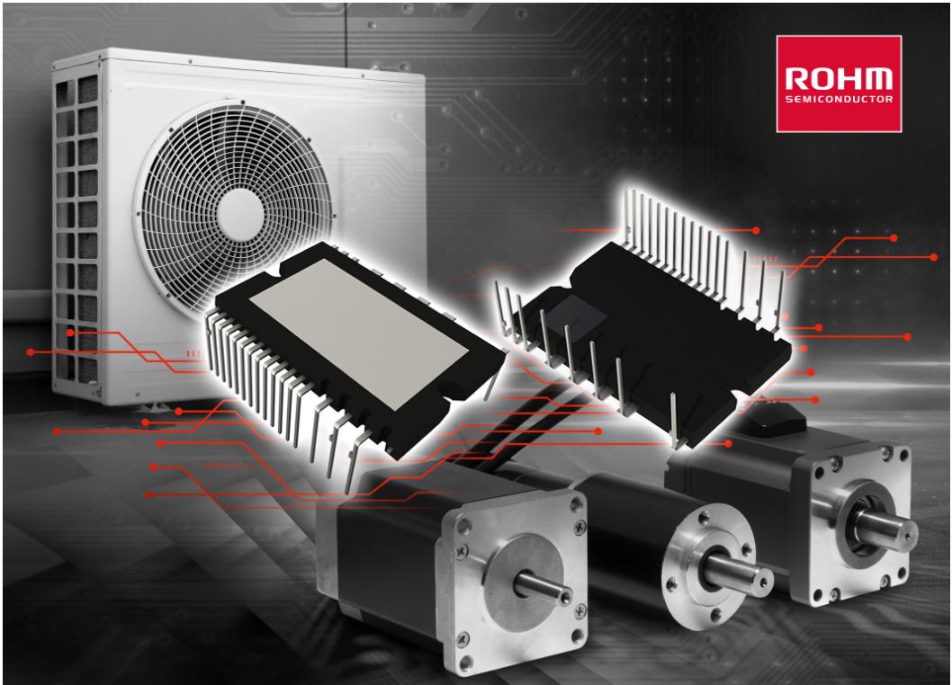 """ROHM開發出兼具出色的降噪和低損耗特性的600V耐壓IGBT IPM""""BM6437x系列"""""""