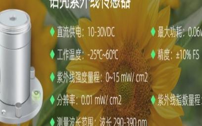 铝壳紫外线传感器的特点介绍