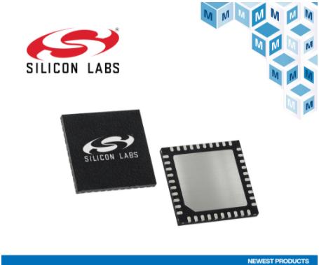 貿澤即日起備貨優化物聯網邊緣應用能效的Silicon Labs EFM32PG22 MCU