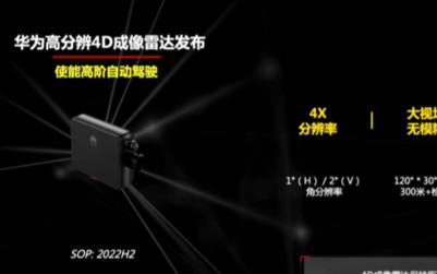 浅析华为ADS成像毫米波成像雷达方案