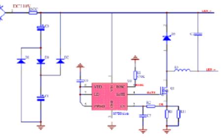 高效率LED驱动控制芯片HV9910B数据手册