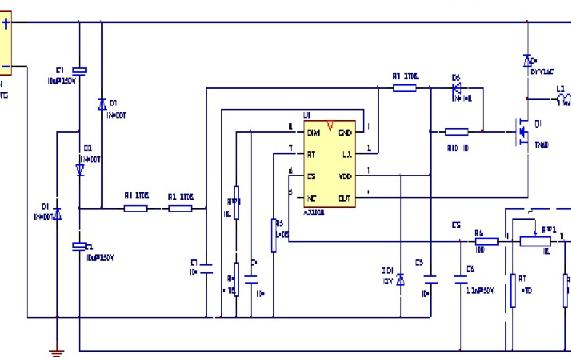 高效高性能LED恒流驱动电源芯片AX2028