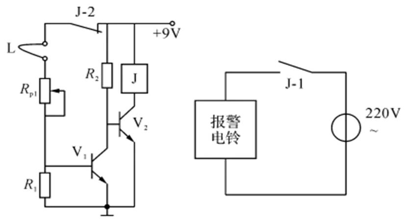 利用繼電器實現斷線報警自鎖電路的工作原理解析