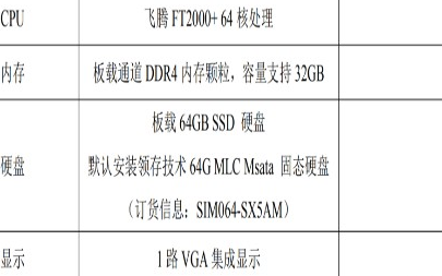 關于領存FT 2000+ 6U VPX高性能數據處理刀片的介紹