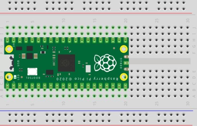 基于Raspberry Pi Pico的GPIO引脚使用运动传感器