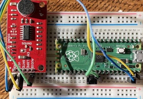 如何從Raspberry Pi Pico的模數轉換器捕獲數據計算?