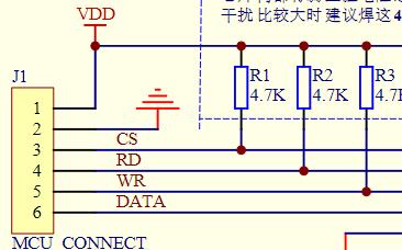 LCD显示驱动芯片VK1621S电路图下载