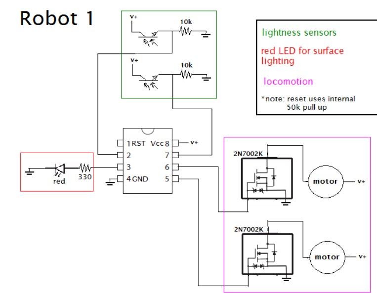 微型机器人如何通过光电晶体管来感知外界?
