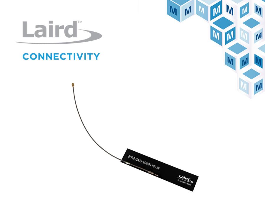 貿澤電子開售適用于5G和物聯網應用的 Laird Connectivity Revie Flex蜂窩天線