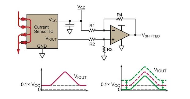 如何减去电流传感器失调电压漂移