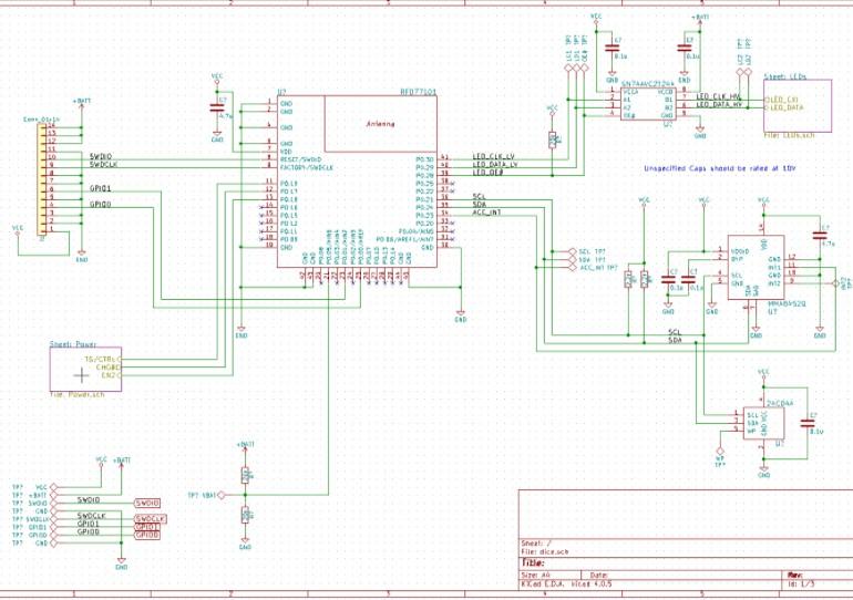 如何通过蓝牙微控制器控制多功能骰子?