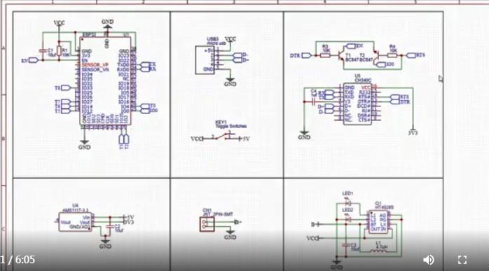 基于一个micro USB连接器串行IC对ESP32芯片实现编程