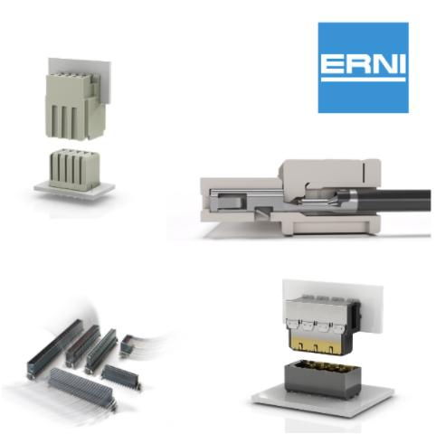 Digi-Key Electronics宣布与连接器供应商ERNI Electronics达成全球分销合作