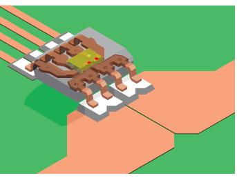 无芯霍尔效应电流传感器集成电路(IC)和共模场抑制