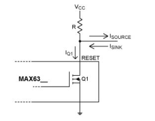 具有漏极开路,推挽和双向复位输出的监控电路