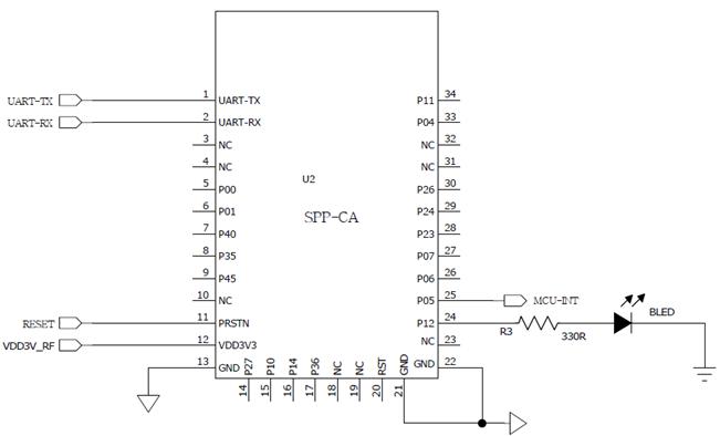 可智能无线传输的蓝牙模块BT04规格说明书