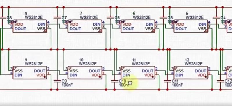 如何使用流行的WS2812 LED制作LED立方体?