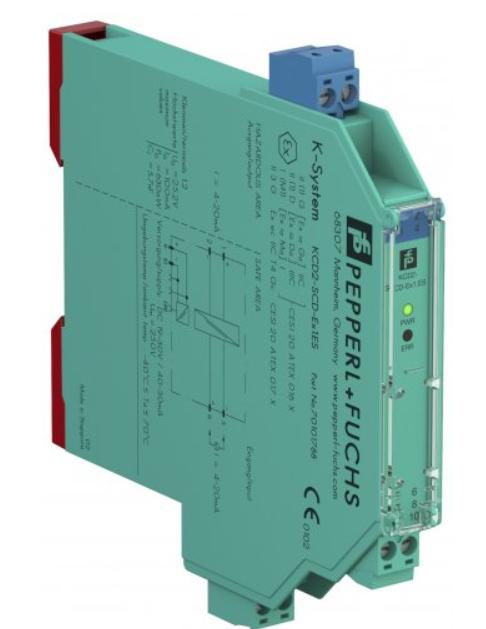 倍加福推出SIL 3等级电流驱动器,面向危险区应用