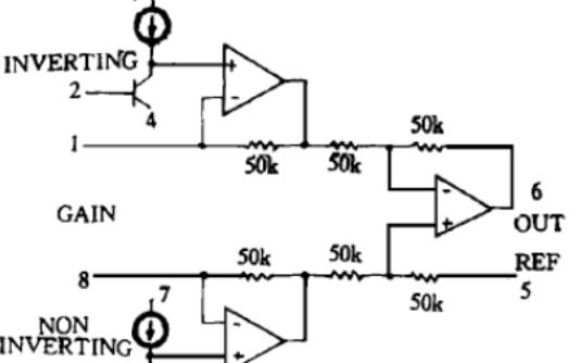 單電源儀表放大器AD623及其應用綜述