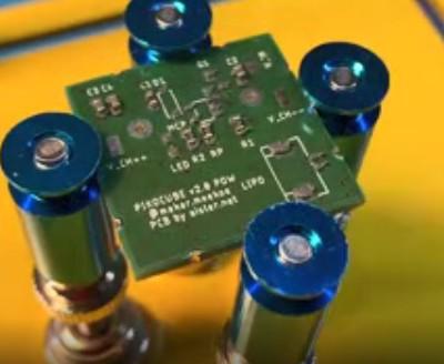 基于一个ADXL345陀螺仪传感器的PCB零件