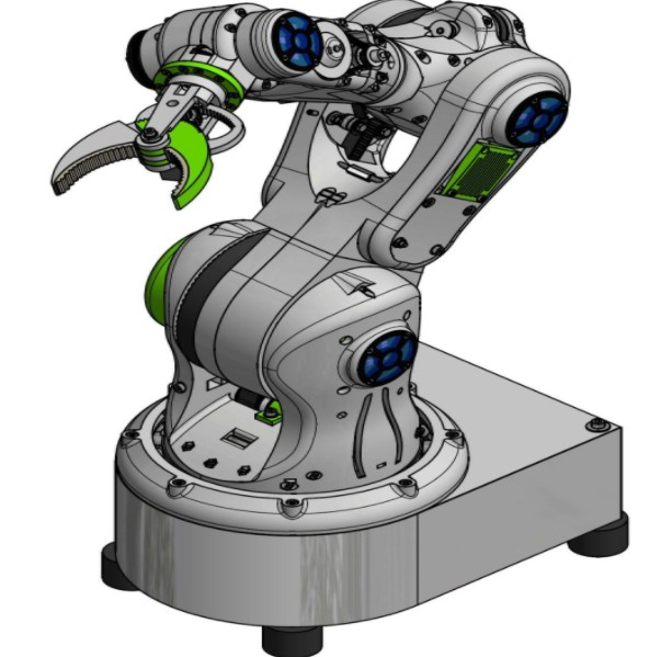 基于開發一種開放源代碼的機器人手臂