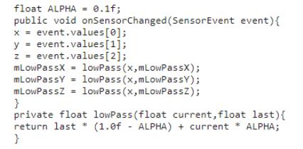 浅谈传感器中3种常用算法处理(含实现代码)