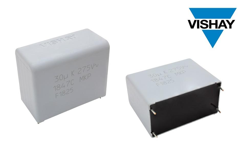 Vishay的新款交流滤波薄膜电容器可在高湿环境下持续稳定工作