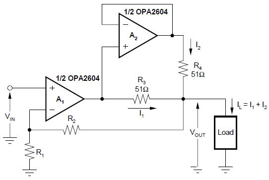 雙OPA2604音頻放大器規格說明書下載