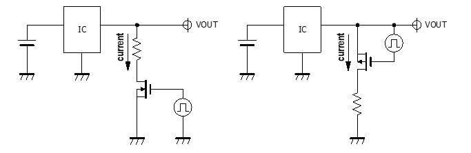 如何利用MOSFET的三极管和饱和区与负载电阻配...
