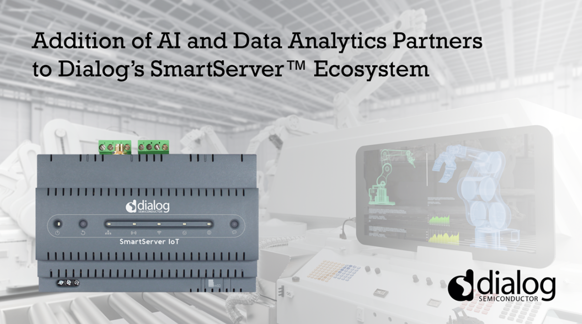 Dialog在SmartServer™生态系统中增加AI和数据分析合作伙伴,引领工业数字化转型