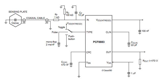 恩智浦具有自動校準功能的電容式接近開關